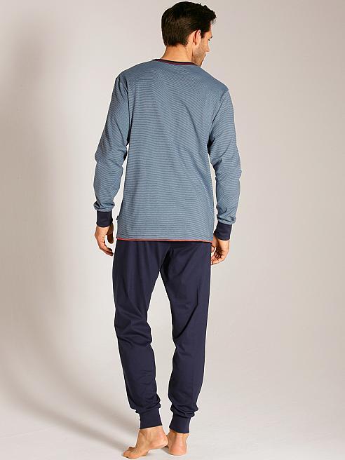 calida brooklyn b ndchen schlafanzug blau calida online shop. Black Bedroom Furniture Sets. Home Design Ideas
