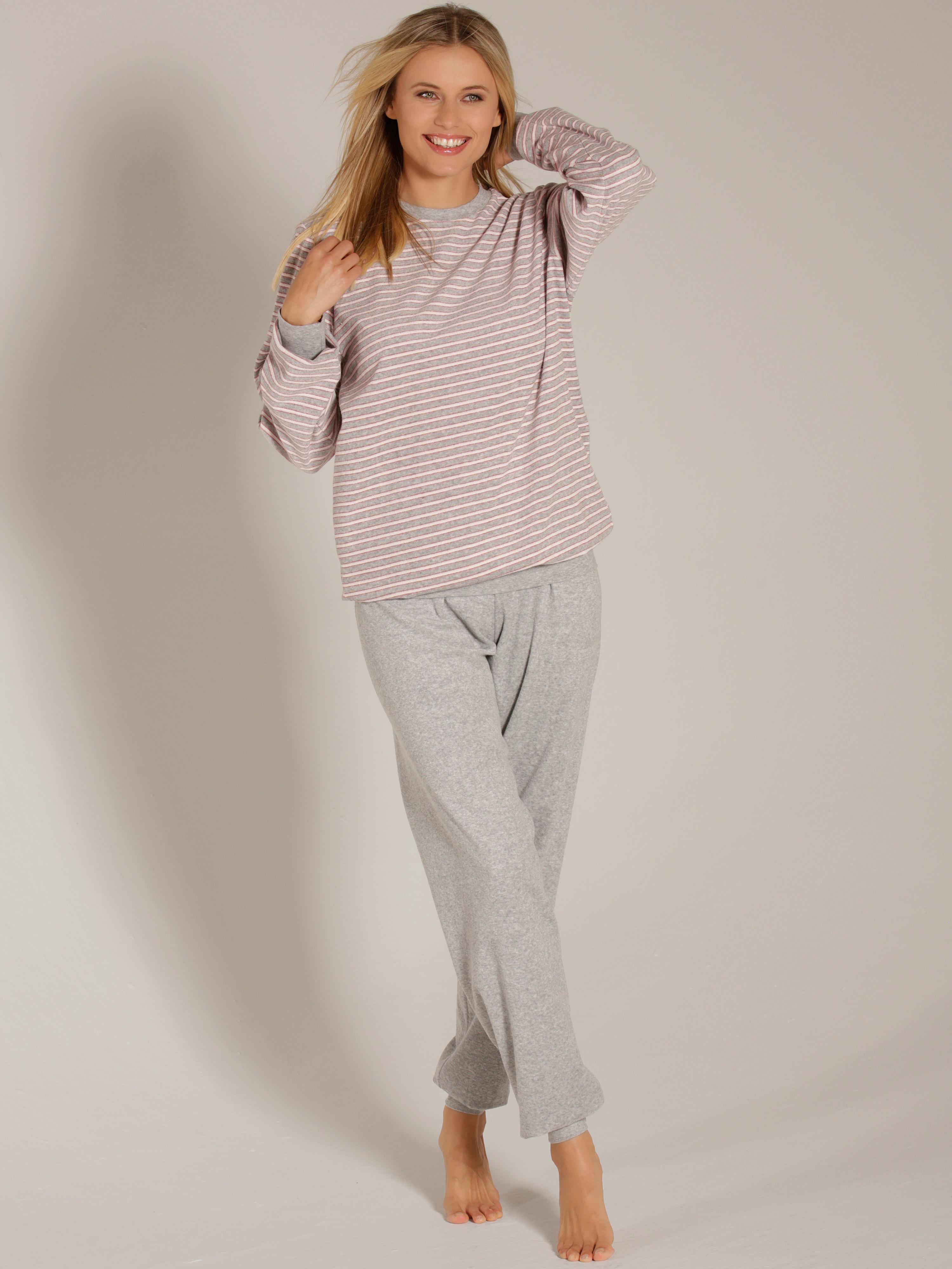 Carlotta Bündchen-Pyjama aus Frottée