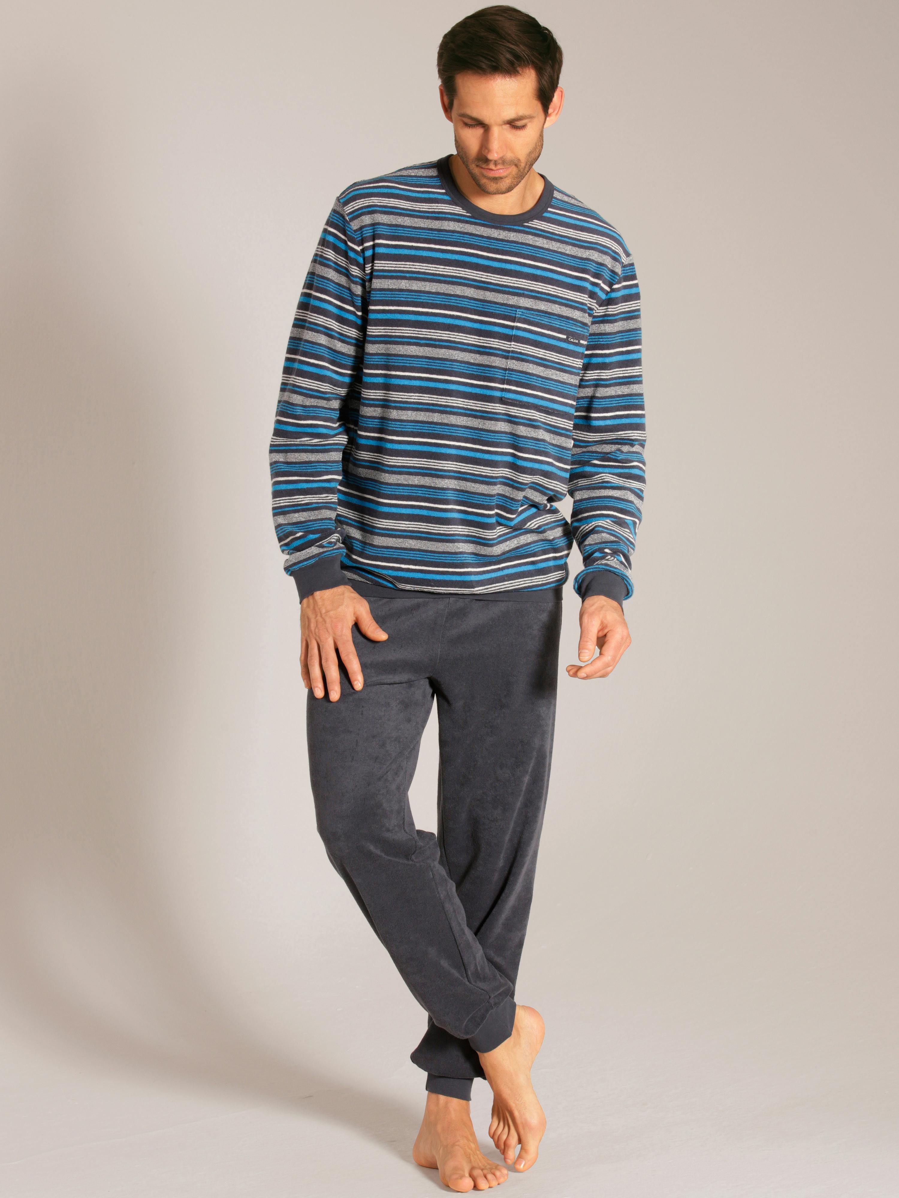 Fullham Bündchen-Pyjama aus Frottée